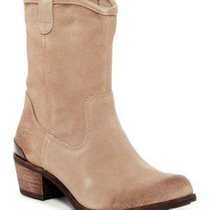 UGG Brair Shearling Western Boots